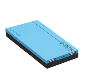 Promate Cloy-16 Blue Power Bank with 4A Output Fast Charge