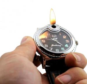 Black Flame Lighter Watch -EA900