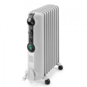 Delonghi Oil 12 Fan Heater, 2500w,  TRRS1225C