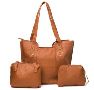 Jin huie 4in one sett bag FL2 Brown