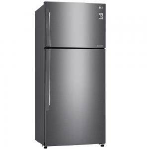 LG 509 Liters Top Mount Refrigerator with Inverter Linear Compressor, Dark Graphite Color