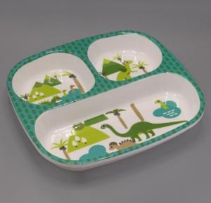 Gitco Kids Rectangle Plate 24x21.5 cm - K2001