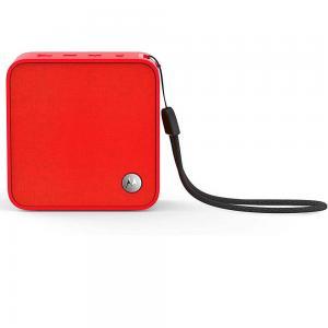 Motorola Sonic Boost210 Wireless Bluetooth Portable Speaker, Red