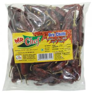 Mr Chef Dry Chilly Whole 100 gm