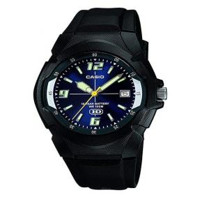 Casio MW-600F-2AVDF Youth Series Analog Blue Dial Mens Watch
