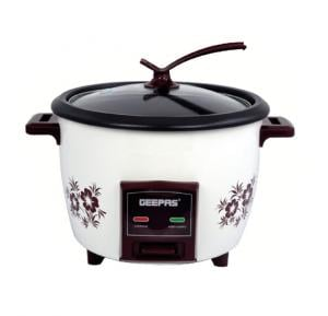 Geepas Electric Rice Cooker Drum Type 1.5 Litre, GRC4332