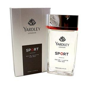 Yardley of London Sport Eau de Toilette Spray, 3.4 Ounce