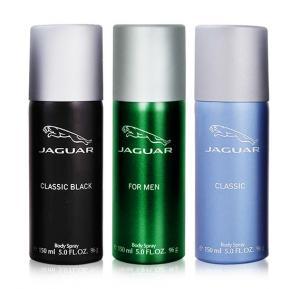 Jaguar Deo Special Saver Pack, Jaguar Black 150ml, Jaguar Blue 150ml, Jaguar Green 150ml