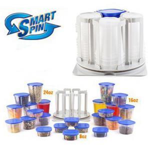 T&F Smart Spin Kitchen Cabinet Organizer
