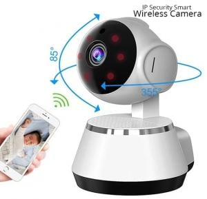 Elony IP Security Smart Net Camera, High Resolution Wireless WiFi Indoor Camera