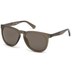 Diesel Sunglass DL0263 46C For Men SG-Matte Light Brown Mirror, Size 54