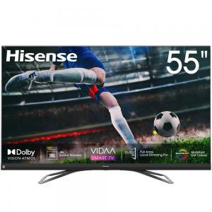 Hisense 55U8QF 55 Inch ULED 4K Smart TV Black