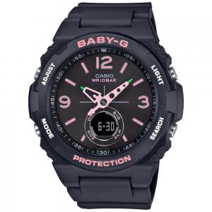 Baby-G Analog and Digital Women Watch, BGA-260SC-1ADR, Black