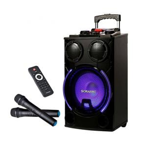 Sonashi 12inch Rechargeable Trolley Speaker 25Kg, SPS-7912RT