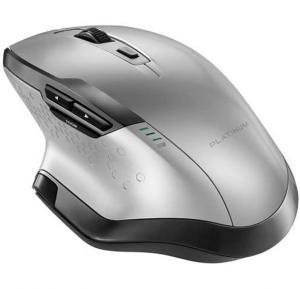 Platinum Wireless Laser Mouse - Silver - Model #: PT-PNM7506SL-C