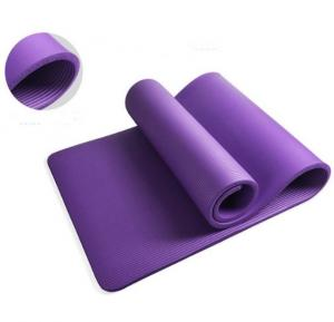 Yoga Mat Purple, 10mm Thick