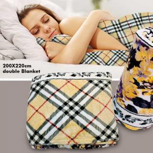 Fleece Lean Designed 200 X 220cm Blanket, Assorted Color