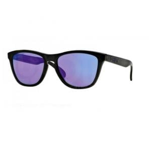 Oakley Wayfarer Black Ink Frame & Violet Iridium Mirrored Sunglasses For Unisex - 0OO9013-901309
