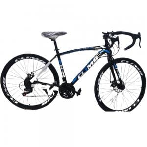 XR Carbon Steel Road Bike with Shimano Shifters, Disc Breaks for Adults, Climb