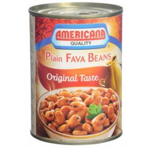 Americana Garden Foul Medammes/Plain Fava Beans Original Taste 400gm, 1372183