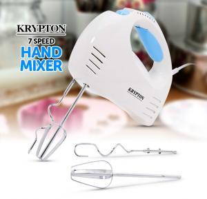 Krypton KNHB6043  7 Speed 150W Hand Mixer, White