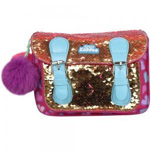 Smily Kiddoos Smily Bling Shoulder Bag, Pink