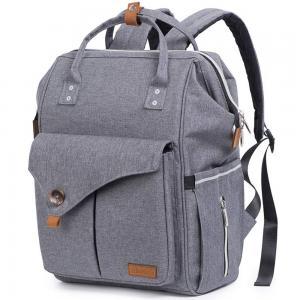 Alameda AL_DP_GY Diaper Backpack Large Grey
