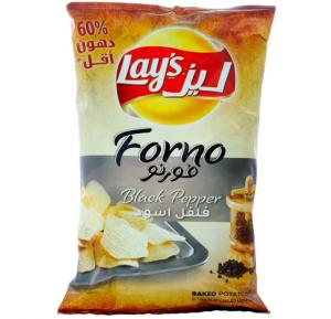 Lays Baked Forno Black Pepper 170 Gram