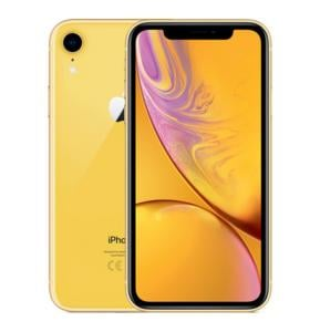 Apple iPhone XR, Dual SIM, 128GB, 3GB RAM, 4G LTE, Yellow.