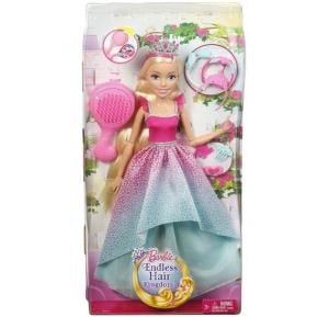 Barbie Wispy Forest Princess 17 Blonde, tall packaging, DPR98