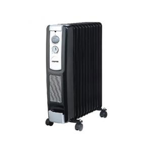 Geepas 2400W Radiator Heater GRH9101, 11 Fins Oil Filled