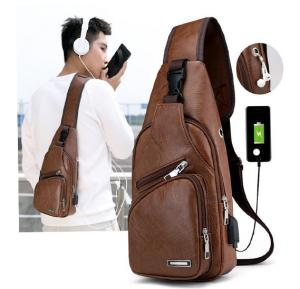 3 Pocket Anti-theft Crossbody Hand Bags for Male