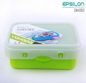 Epsilon Airtight Lunch Box Green  - EN4063