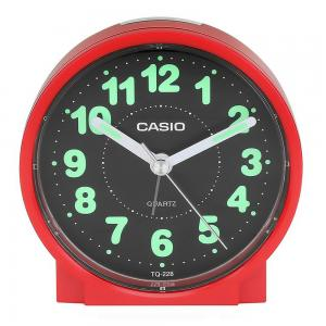 Casio Round Alarm Clock, TQ-228-4DF