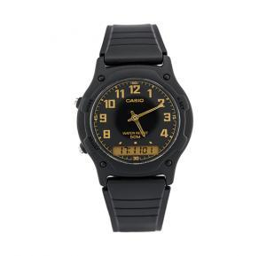 Casio Men s Resin Band Analog or Digital Watch AW-49H-1BVDF