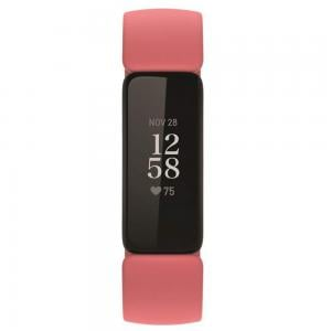 Fitbit Inspire 2 Health And Fitness Tracker Band, Desert Rose and Black
