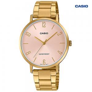 Casio LTP-VT01G-4BUDF Analog Watch For Women, Gold