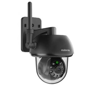 Motorola Focus 73, Connect HD, Black Outdoor Wi-Fi Remote Access Home Monitoring Camera