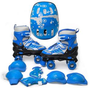 5 in 1 Roller Skate Set with Adjustable size, 28 - 33, CityWing001