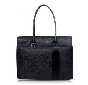 Promate Ladies Tote Bag For Laptops Nicole Black