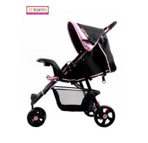 Baby Plus Stroller BP7739 Pink Dot