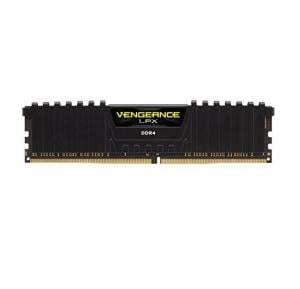 16GB(2*8GB) DDR4 3000mhz CL15 Vengeance LPX Red Heat Spreader 1.35V XMP 2.0, Black - CMK16GX4M2B3000C15R