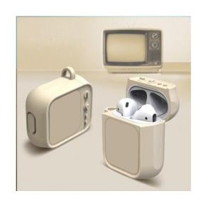 Apple Airpot Case TV Shape, cream