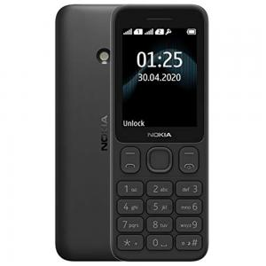 Nokia 125 Dual SIM Black 4MB 2G (2020)