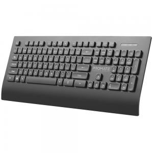 Promate ProCombo-7 Wireless Eng Keyboard and Mouse 2.4Ghz Black