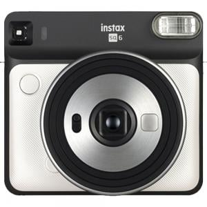 Fujifilm Instax Square SQ6 Instant Film Camera, MFFPIINCSQ6PW, Pearl White