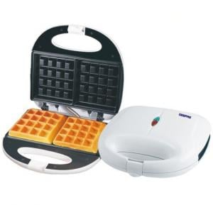 Geepas GWM676 Non-stick Waffle Maker, Square