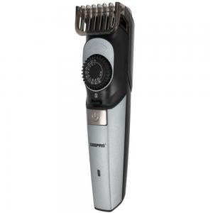 Geepas GTR56042 Rechargeable Hair Clipper 5W Black with Silver