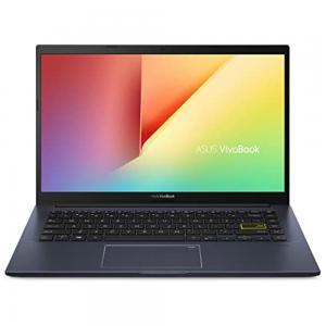 Asus M413UA Laptop 14 inch FHD Display R5-5500U Processor 8GB RAM 512GB SSD Storage integrated Graphics Win, Black