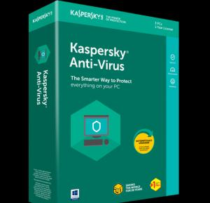 Kaspersky antivirus 1+1 user